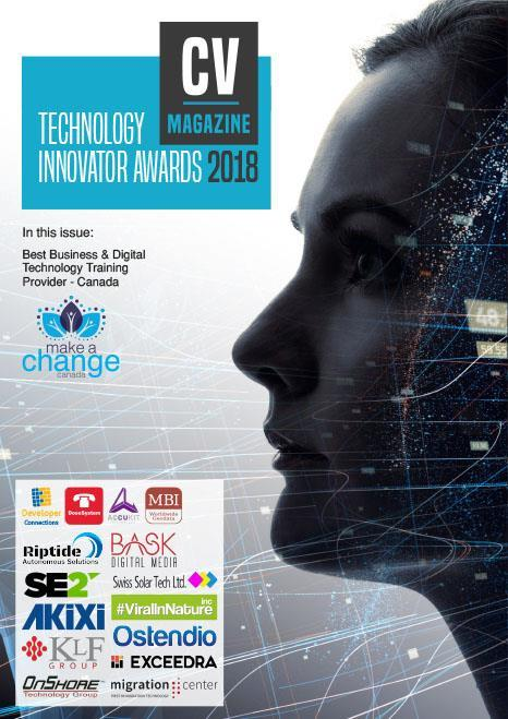 Corporate Vision - Tech Innovator awards 2018