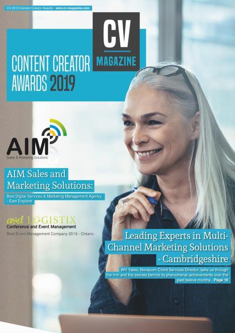 Corporate Vision - Content Creator Awards 2019