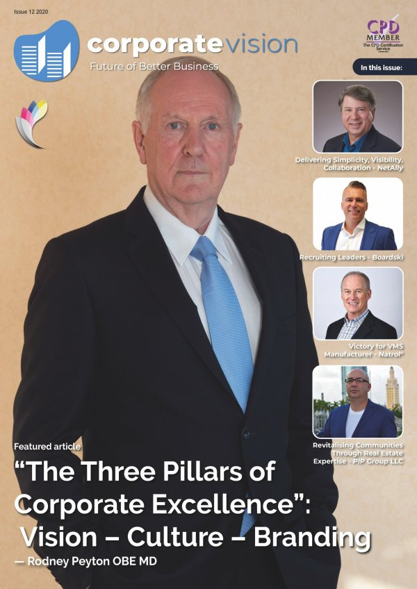 Corporate Vision Issue 12 2020 cover