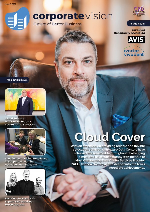 Corporate Vision Issue 3 2021 cover